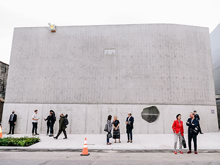 The Amant Foundation in Brooklyn.