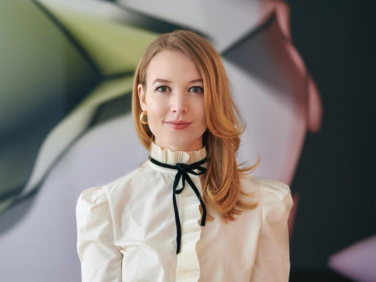Art world digital strategist Elena Soboleva