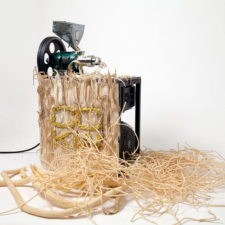 One of Chen and Williams sculptural food machines.