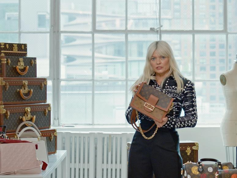 """Stylist Kate Young details Louis Vuitton's most brand-defining bags on her YouTube show, """"Hello Fashion."""""""