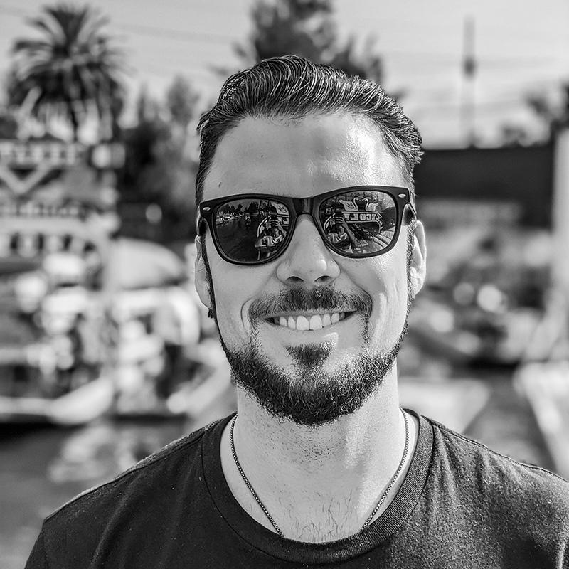 Portrait photo of Eric Nation