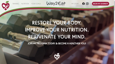 Way2Eat Website