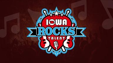 Iowa Rocks Talent Logo