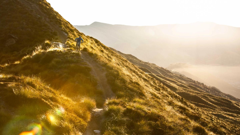 Christian Little Mountain Biking