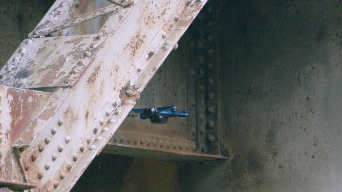 skydio 2 bridge drone inspection flying