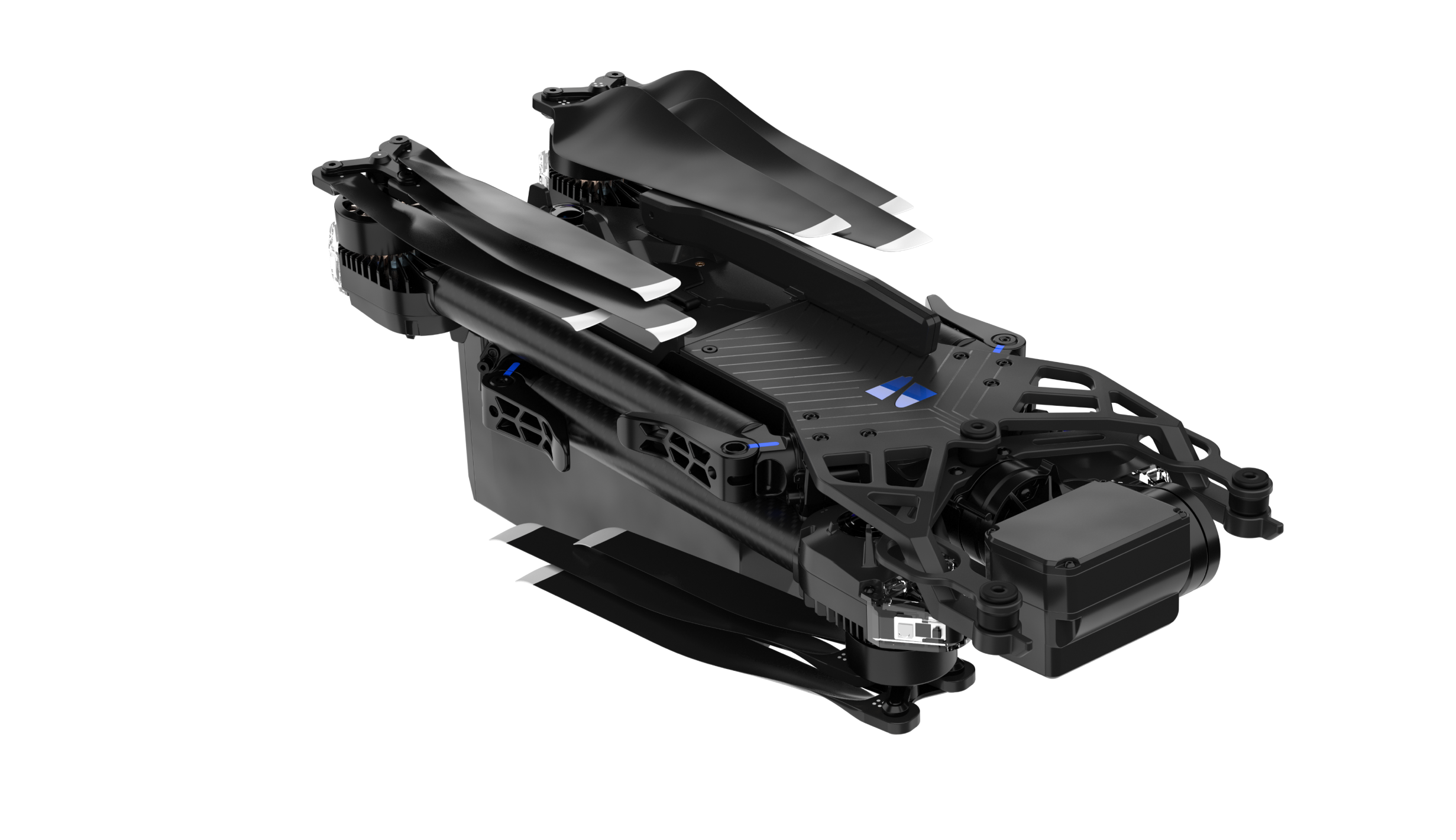 folded x2 drone
