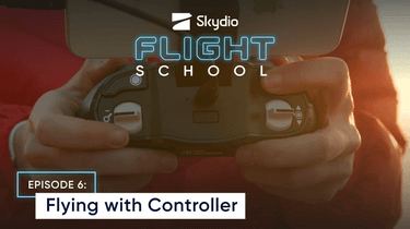 Flying with controller