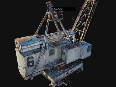 3d scan crane