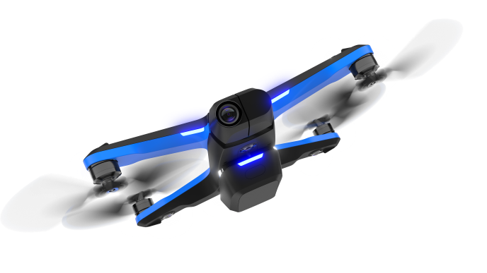 Skydio 2 drone transparent background