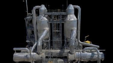 Sundt, 3D Scan, Skydio, structure inspection