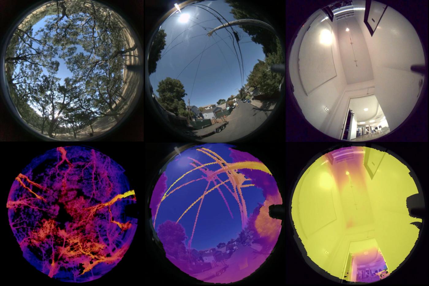 Skydio visual sensing cameras depth map drone autonomy