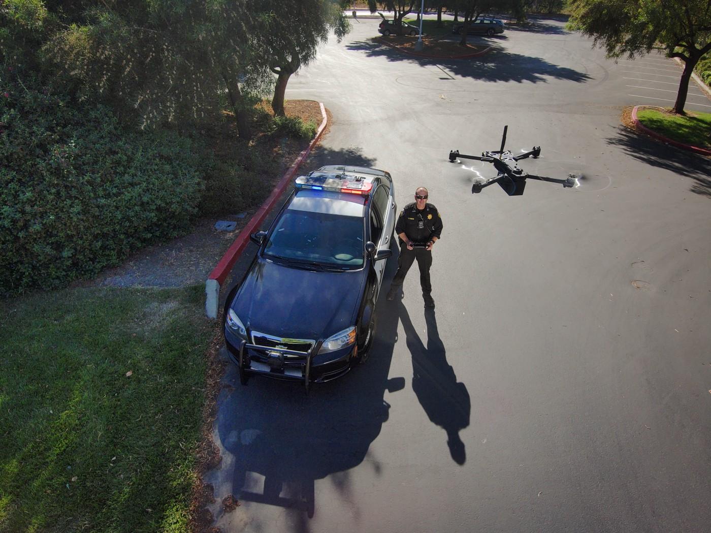 Skydio police drone
