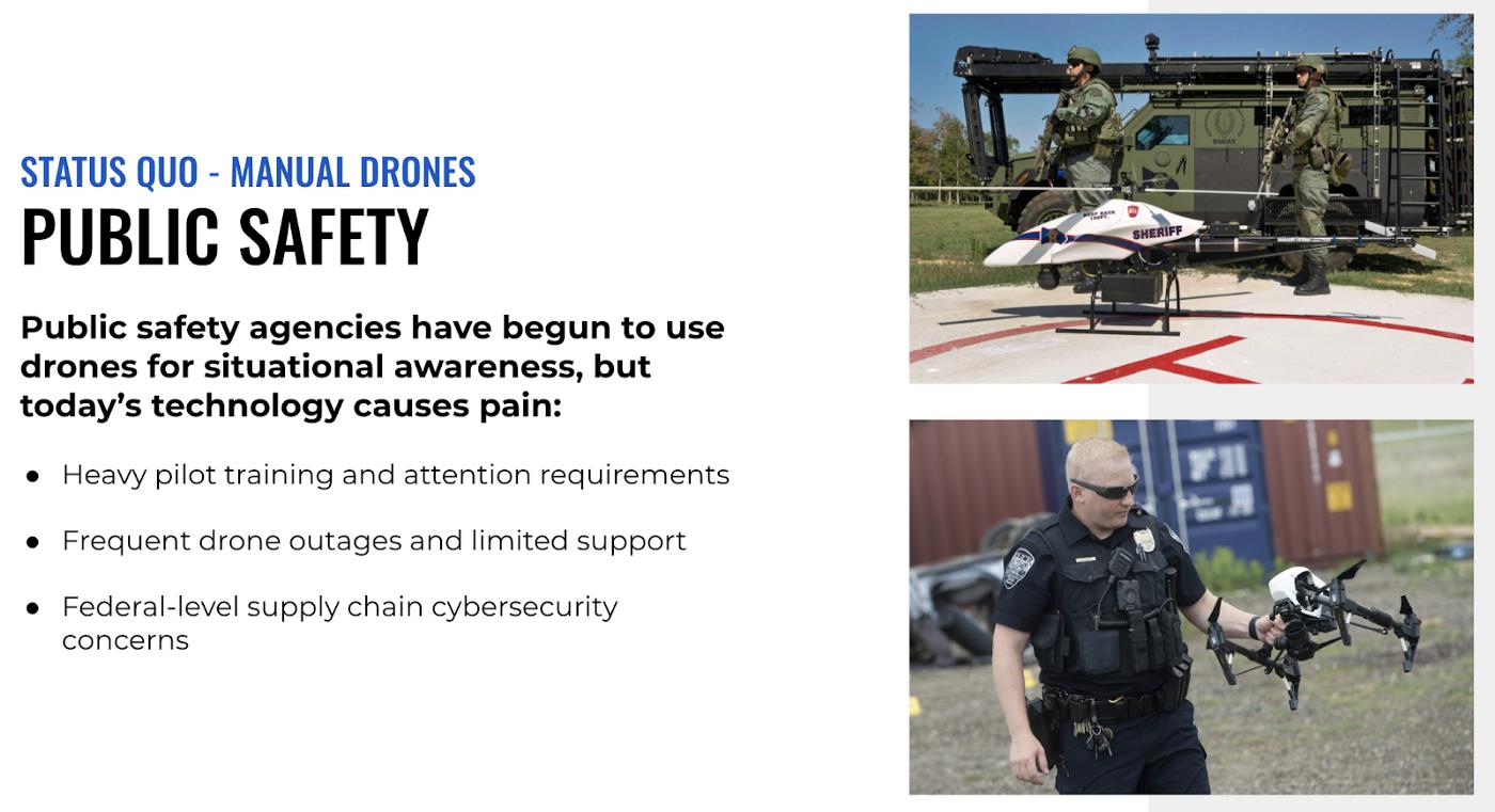 public safety drones police dji