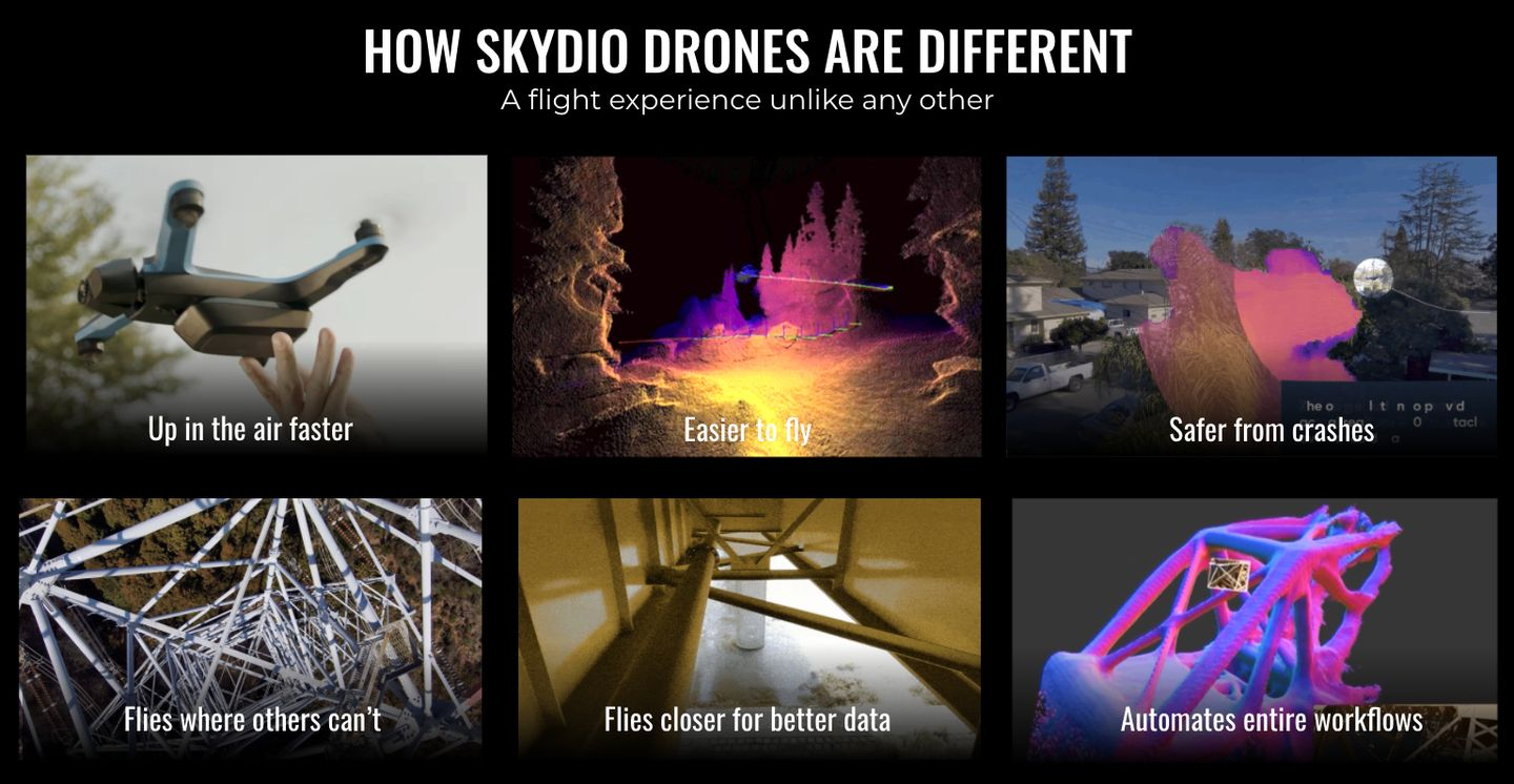 how skydio drones are different