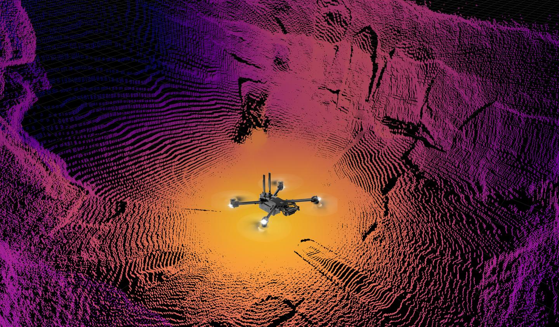 Skydio drone Autonomy x2 point cloud