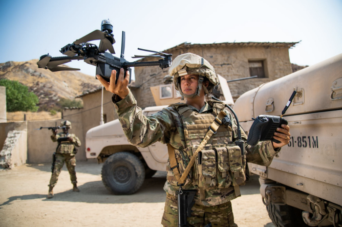 skydio drone x2 military launch US army