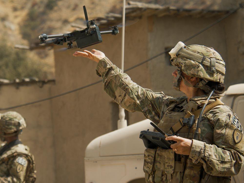 skydio autonomous x2 drone army srr