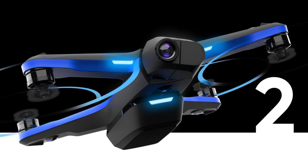 skydio 2 drone flying