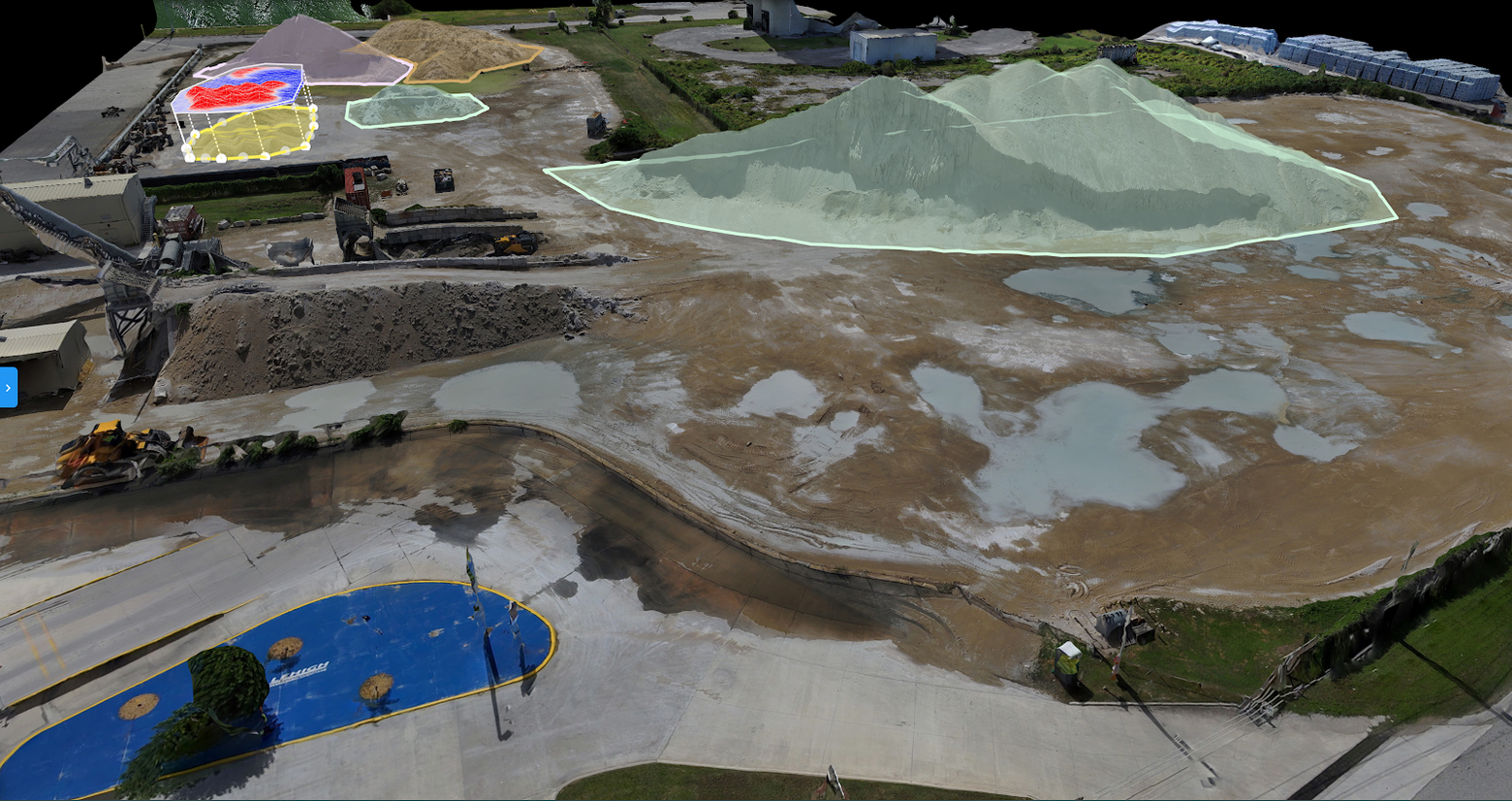 Aeronyde indoor mission with Skydio 2 drone