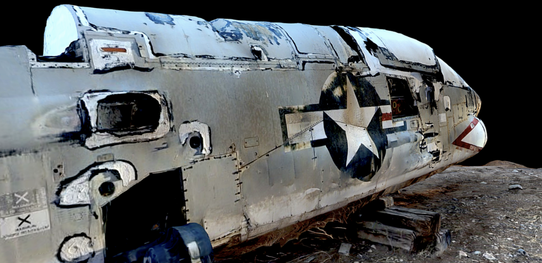 Screenshot from Corsair Jet 3D Model