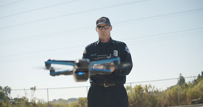 Skydio 2 used in public safety