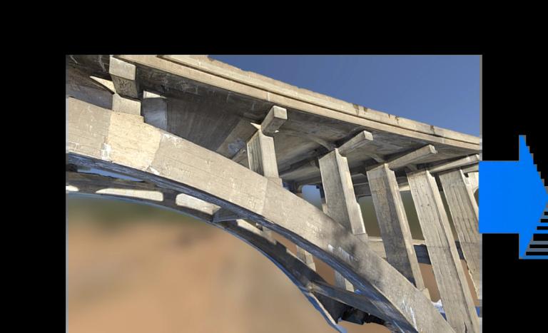 Skydio 3d Scan bridge sample