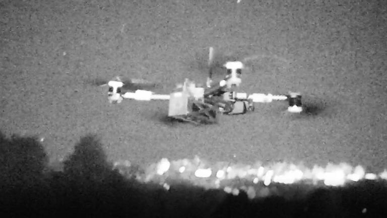 GPS night flight