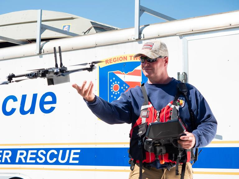 search and rescue drone X2 disaster response