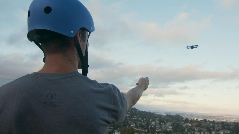 Skydio 2 drag and drop beacon