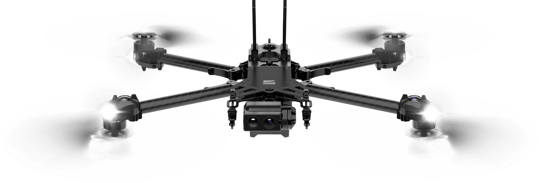 Skydio Autonomous drone thermal police