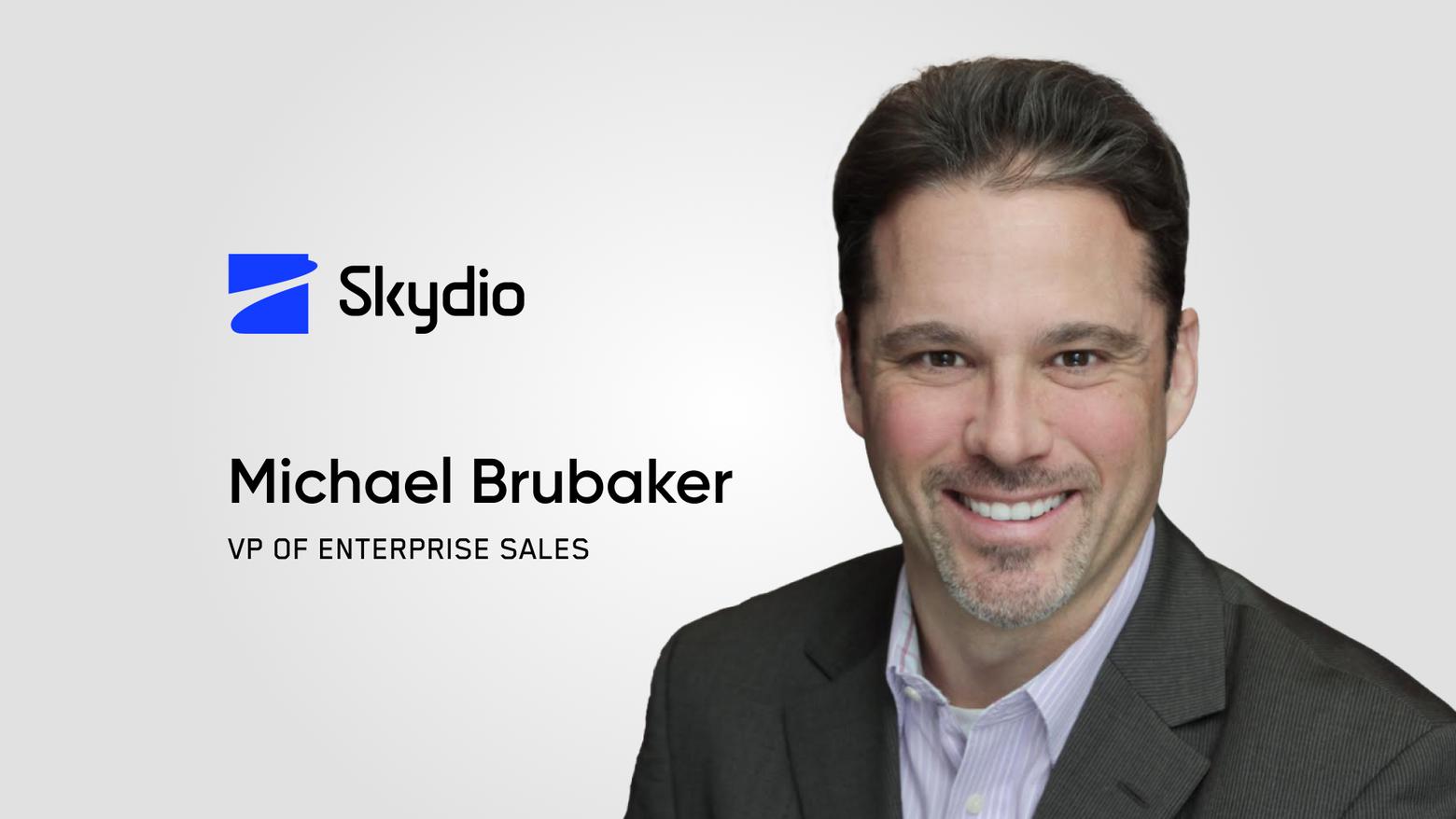 Skydio VP of Enterprise Sales, Michael Brubaker