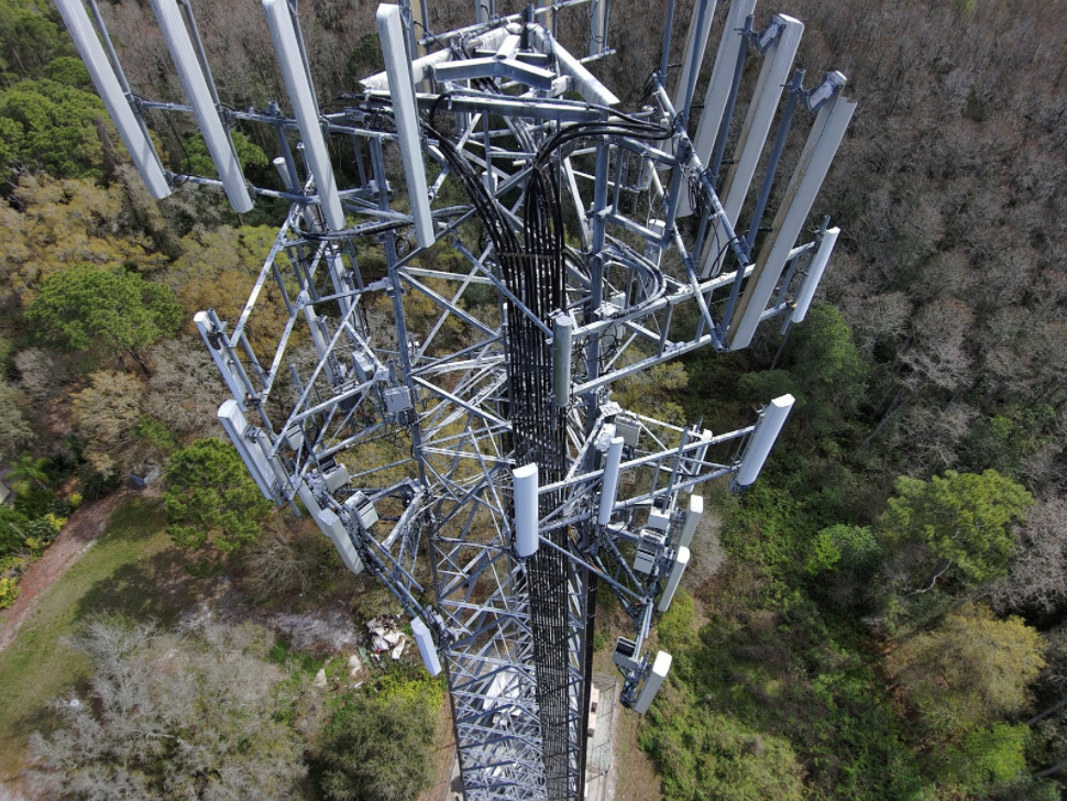 Drone Photo of the Cell Tower