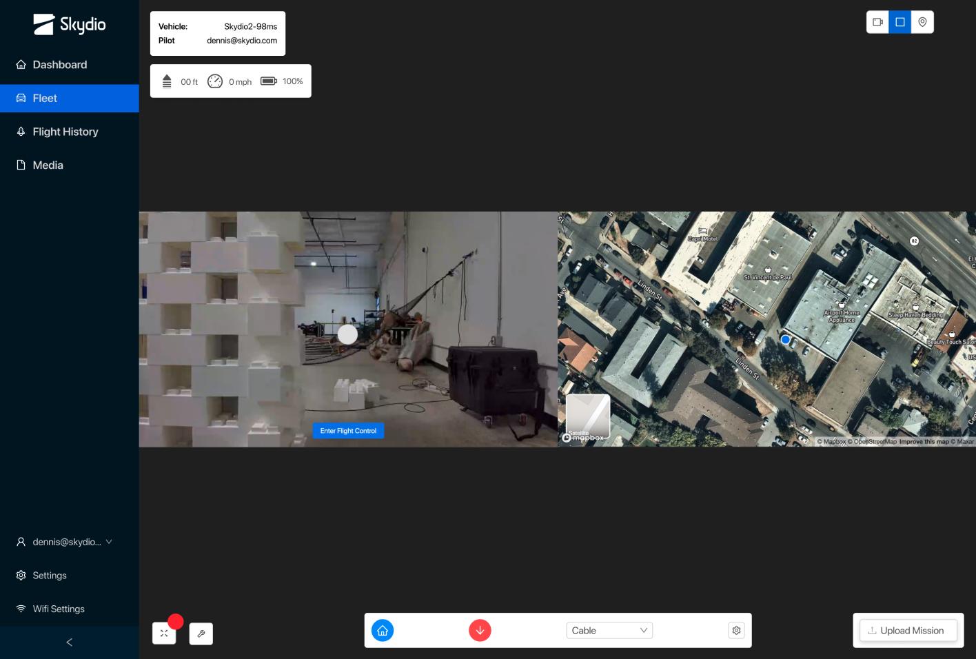 skydio cloud remote drone operation