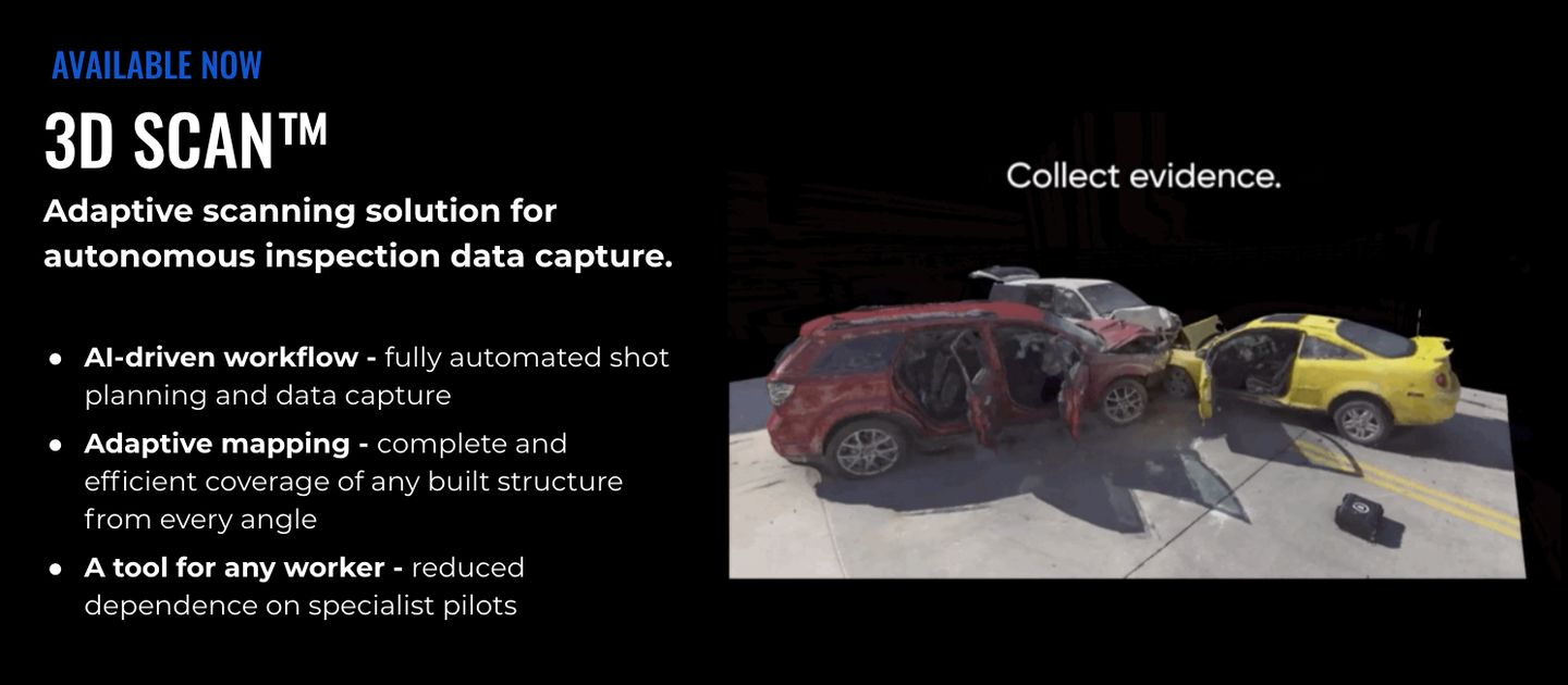 3D Scan drone mapping public safety