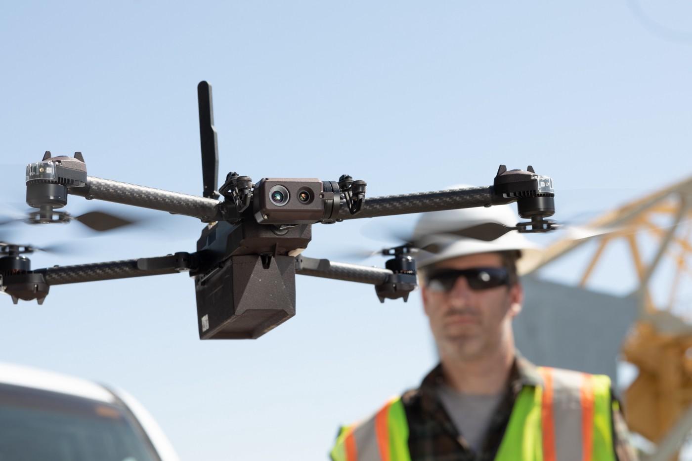 Skydio X2 Autonomous Drone Prototype