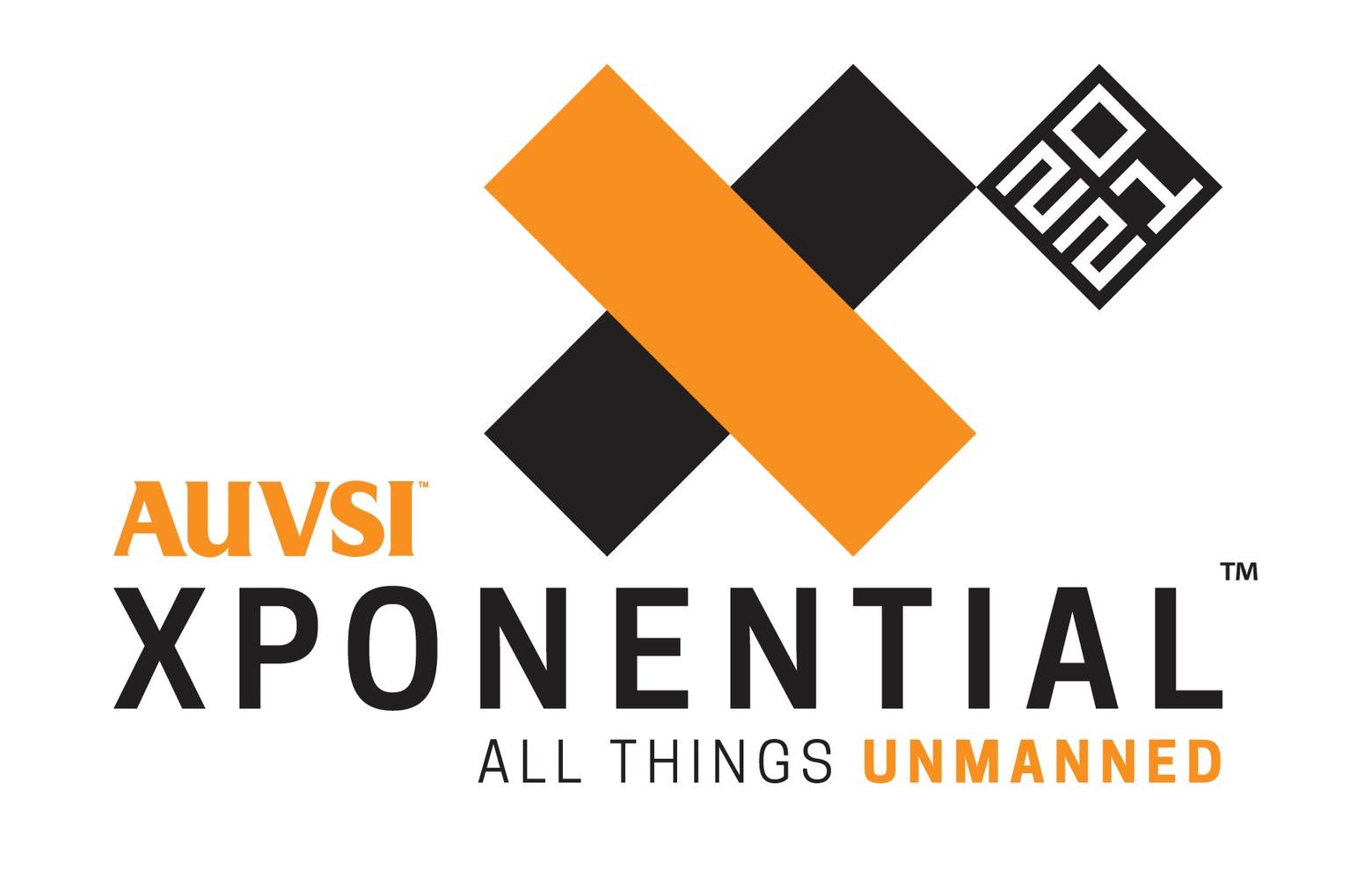 AUVSI Xponential 2021 logo