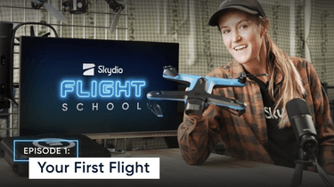 Your first flight