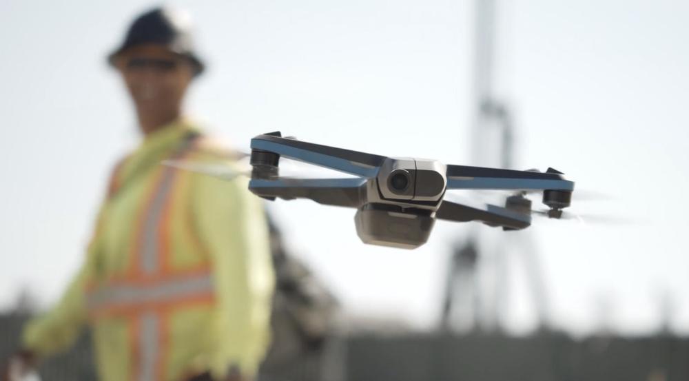 skydio 2 drone construction