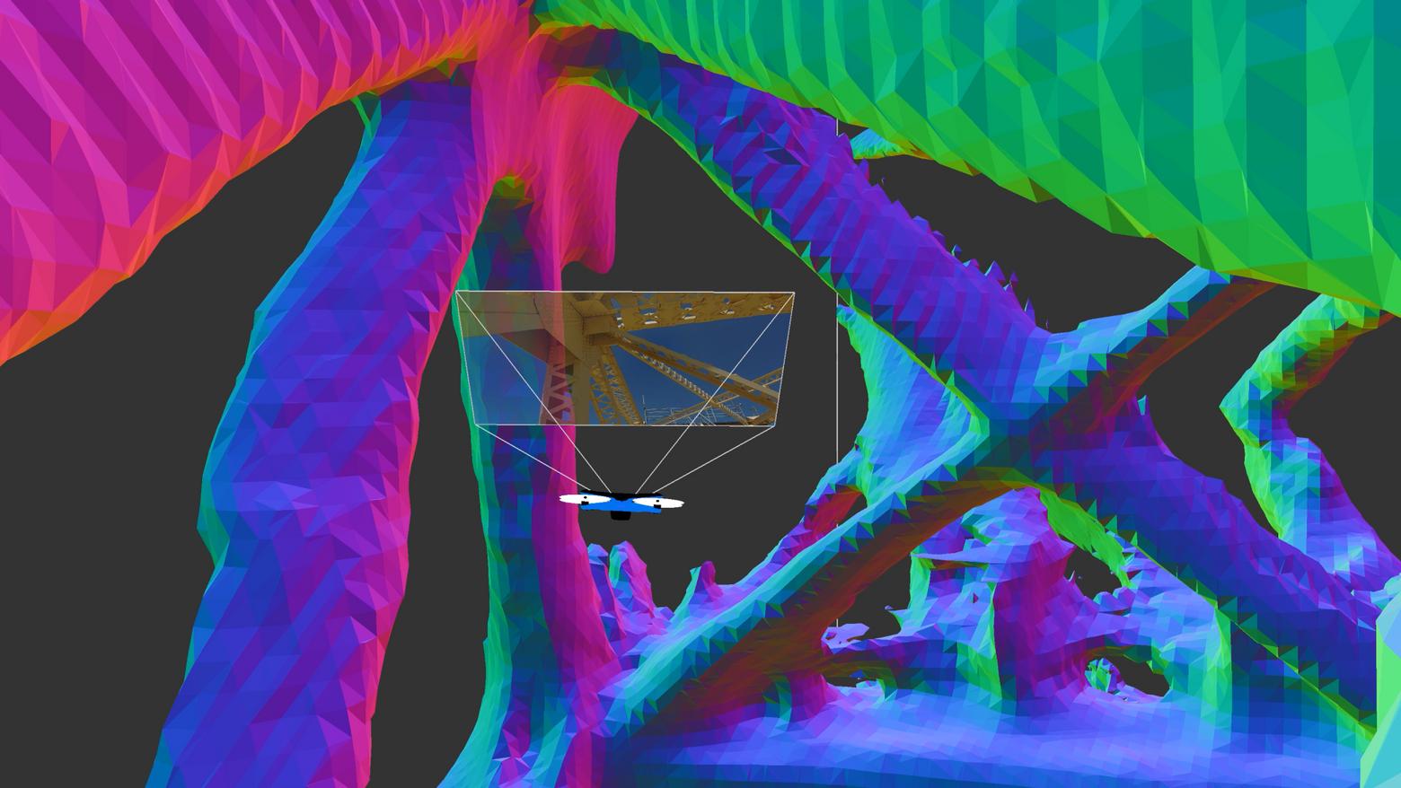 Skydio 3d scan bridge