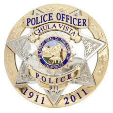 chula vista police badge