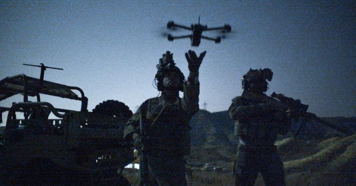skydio x2 military launch drone autonomous US