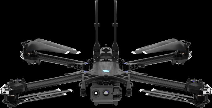skydio x2 drone transparent