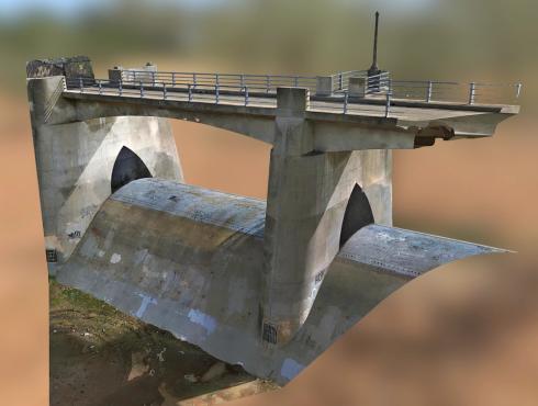 3d scan dam