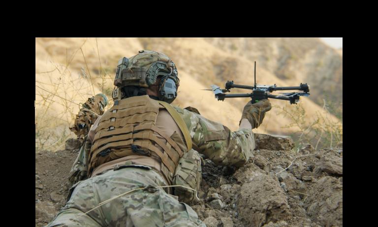 skydio x2 controller military
