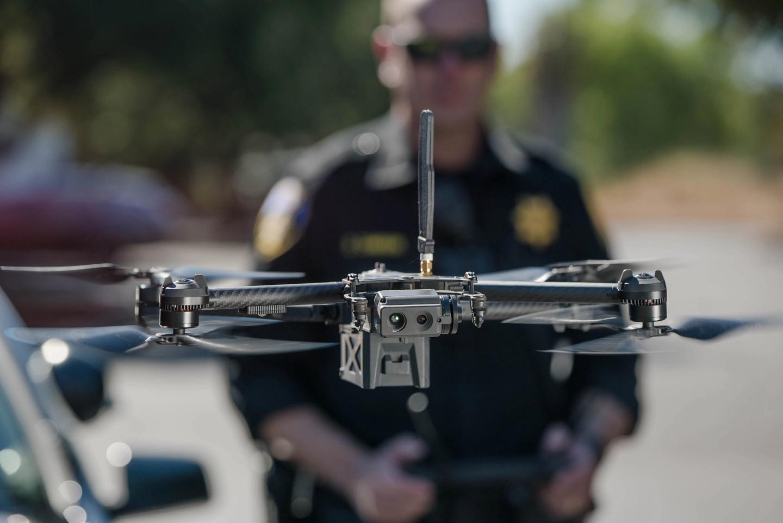 Skydio x2 drone police