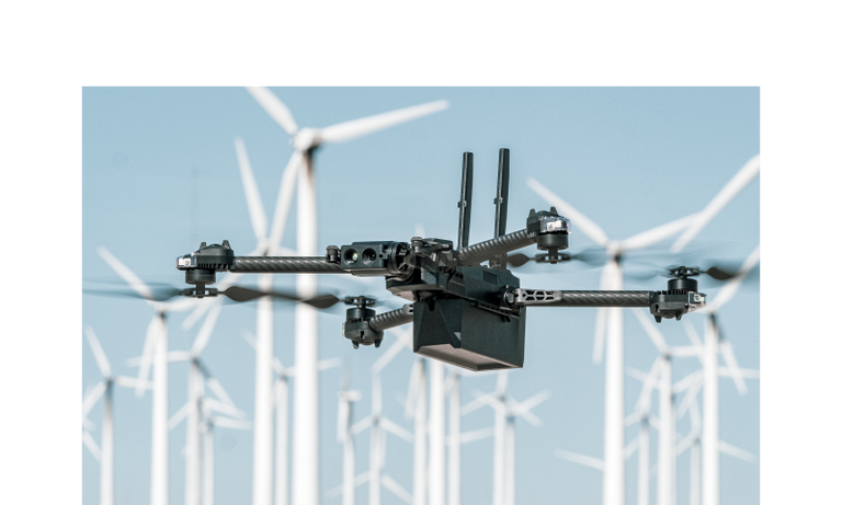 skydio x2 wind turbine