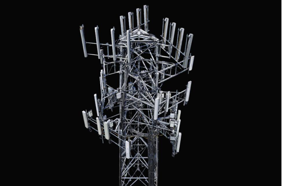 Screenshot of Cell Tower 3D Model