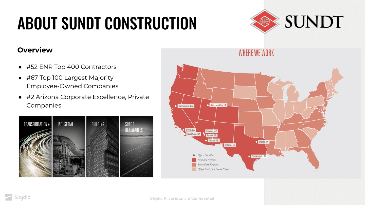 Sundt Construction: General Background