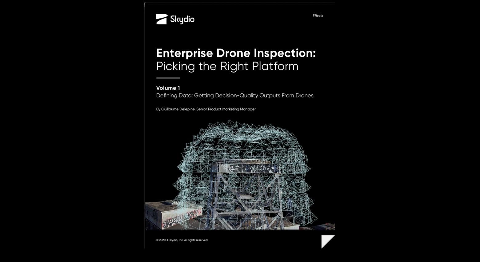 Skydio 3D Scan Crane Mast Drone Inspection eBook