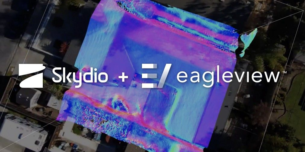 skydio and eagleview partnership drone autonomous mapping